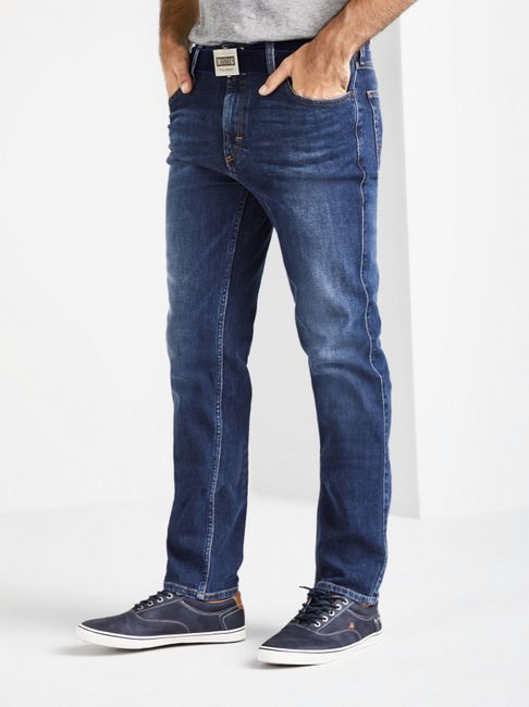 Mustang Tramper Tapered Herren Jeans, Size: W38 L30 /  rinsed washed