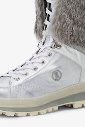 BOGNER Damen Winter Stiefel St. Anton Fellbesatz L3 N-14, Size: 39 EU  / Silver 4