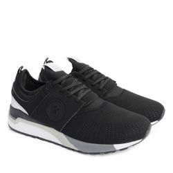 BOGNER Herren Sneaker, Schuhe, Turnschuhe, Atlanta M1, schwarz 1