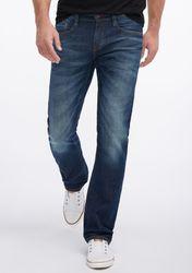 Mustang Oregon Straight Herren Jeans, W29 -to- W38 / dark rinsed used 1