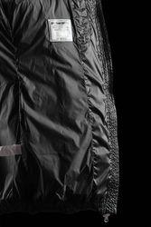BOMBOOGIE Damen Mantel mit Echtfell  (Waschbär) Size: S -to - L *NEW* / Glänzend 7