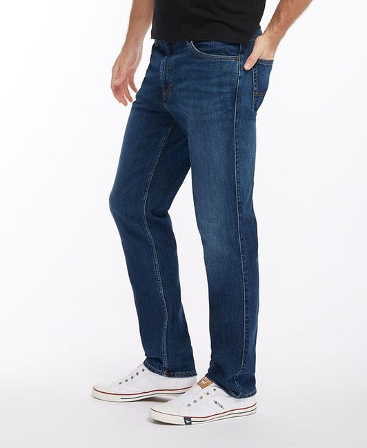 Mustang Tramper Tapered Stretch, W30 - to - W42 / *WOW* / stone washed