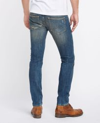 Mustang Chicago Tapered Herren Jeans, W29 - to - W38 / *WOW* / Used-Look 2