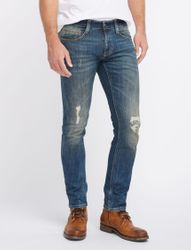 Mustang Chicago Tapered Herren Jeans, W29 - to - W38 / *WOW* / Used-Look 5