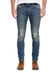 Mustang Chicago Tapered Herren Jeans, W29 - to - W38 / *WOW* / Used-Look 6