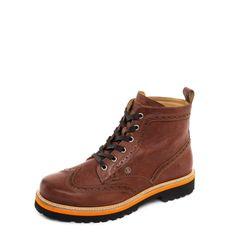 BOGNER Herren Schnür-Boots / Schuhe Cardiff 1A, Size: 40 EU -to- 45 EU/Cognac 2
