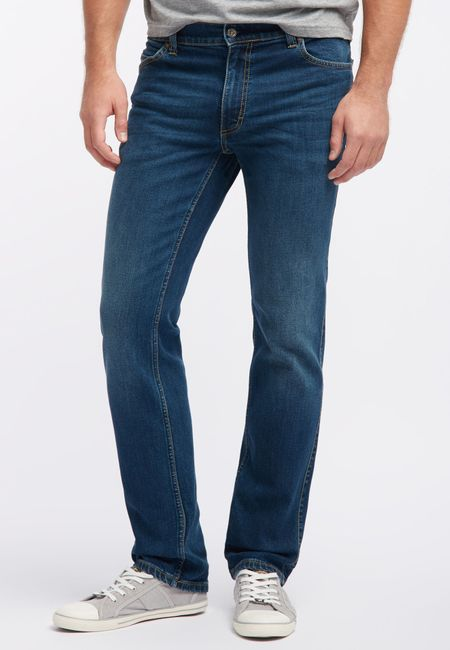 Mustang Oklahoma Herren Jeans (Tramper), W30 -to- W46 / stone washed