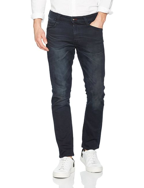 Mustang Oregon Tapered K Herren Jeans, W30 - to - W36 / *WOW* / rinsed washed
