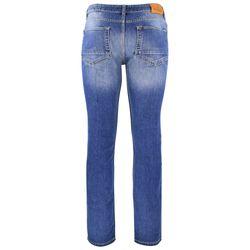 FIVE FELLAS Luuk Straight Fit Herren Jeans, Used-Look, Candiani Denim, blau 1