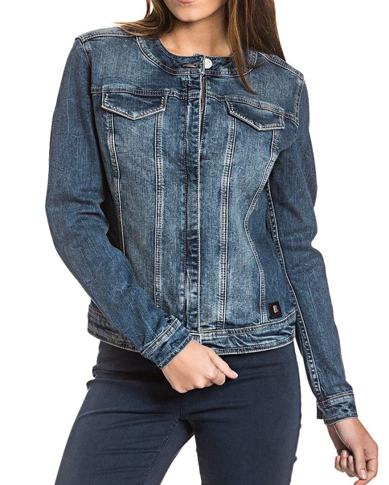 new styles d31b4 0c9e9 Bogner Jeans CLARA Damen Jeansjacke Jacke, Size: S / Biker-Stil |  Fashion-House