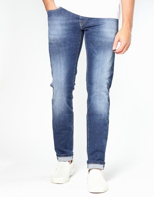 Size W25 super stone washed Gang Dolly Damen Straight Jeans W24