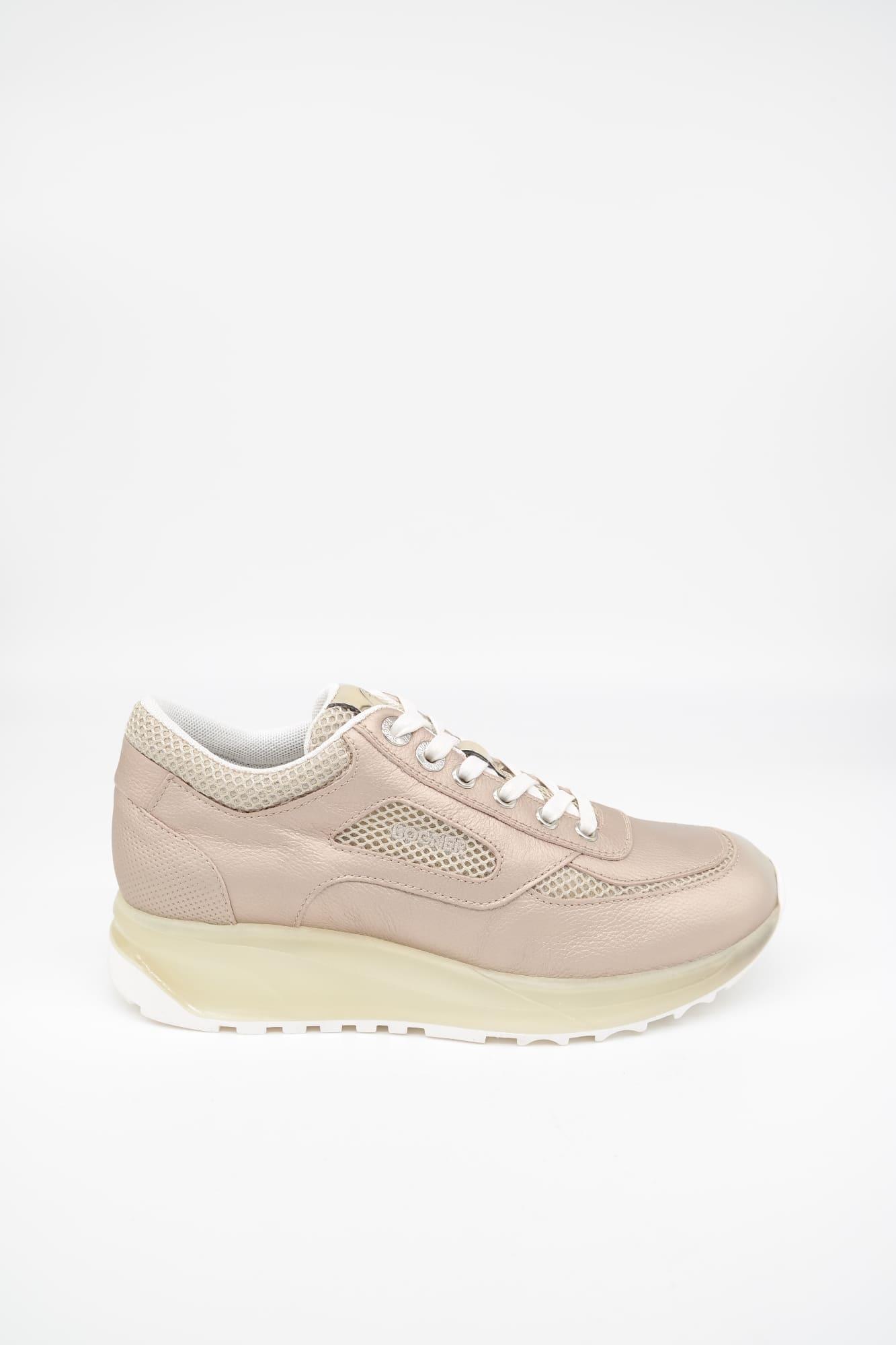 BOGNER New York Lady 10 Damen Sneaker Schuhe, Size: 37 EU / Champagne Leder