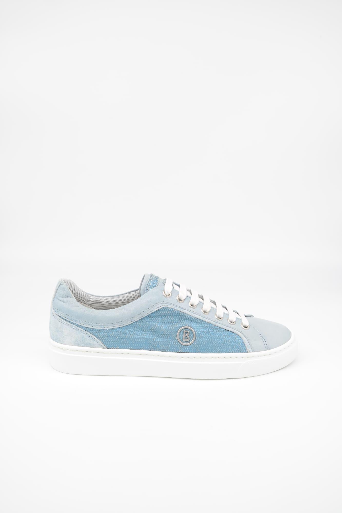 BOGNER Damen New Salzburg 21 Sneaker, Schuhe, Size: 37 EU / Leder / SKY
