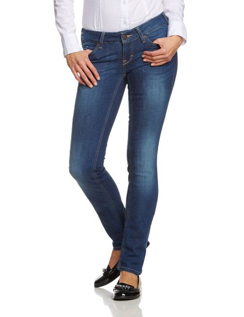 Mustang Gina Skinny Damen Jeans, W25 -to- W31 **WOW**