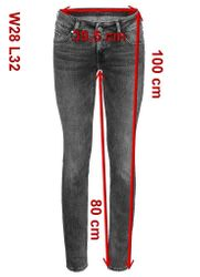 Mustang Gina Skinny Damen Jeans, W25 -to- W31 **WOW**  5
