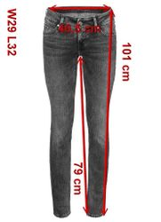 Mustang Gina Skinny Damen Jeans, W25 -to- W31 **WOW**  6