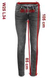 Mustang Gina Skinny Damen Jeans, W25 -to- W31 **WOW**  9