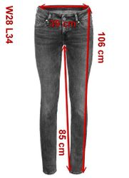 Mustang Gina Skinny Damen Jeans, W25 -to- W31 **WOW**  12
