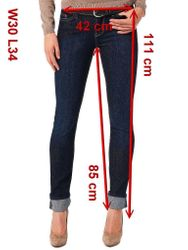Mustang Jasmin Jeans Stretch, Size: W25 - to - W31 / rinsed washed 13