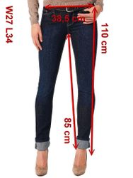 Mustang Jasmin Jeans Stretch, Size: W25 - to - W31 / rinsed washed 10
