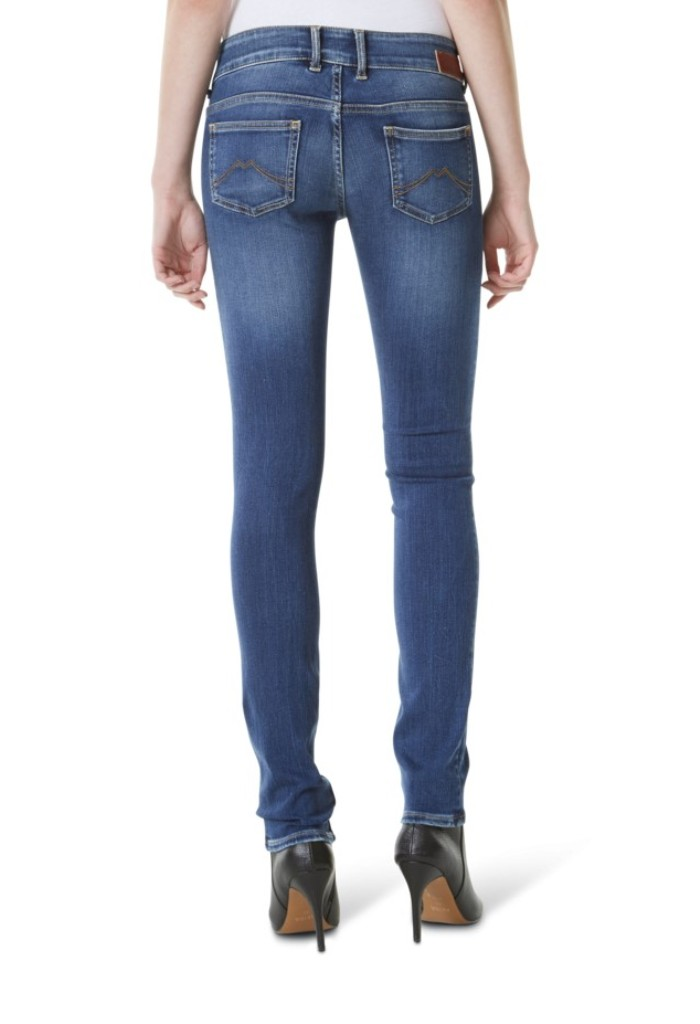 Details about Mustang Gina Skinny 2B Women's Jeans, W25 to W32 Stone Washed