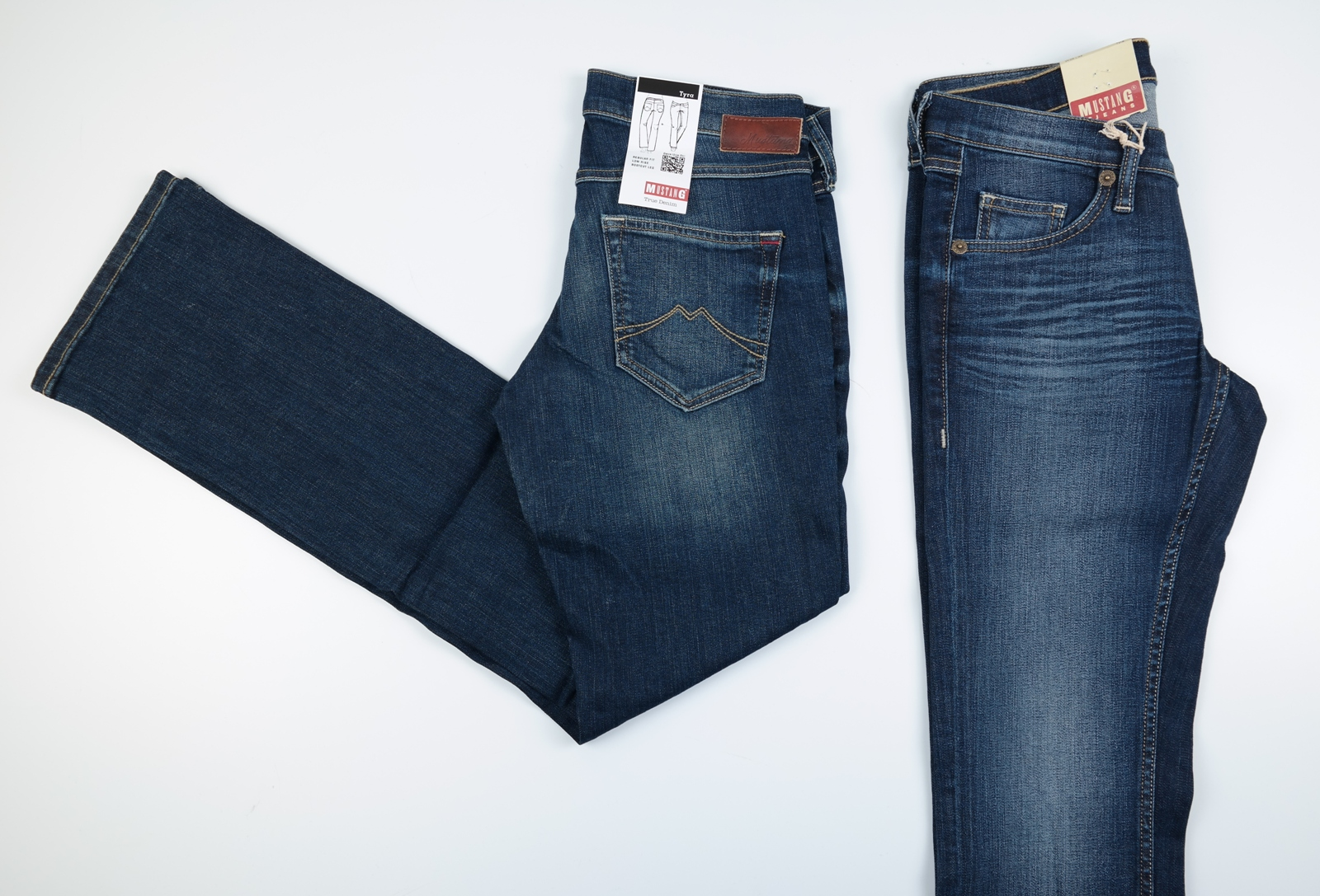 mustang tyra bootcut damen jeans w26 to w33 l30 32 34 wow ebay. Black Bedroom Furniture Sets. Home Design Ideas
