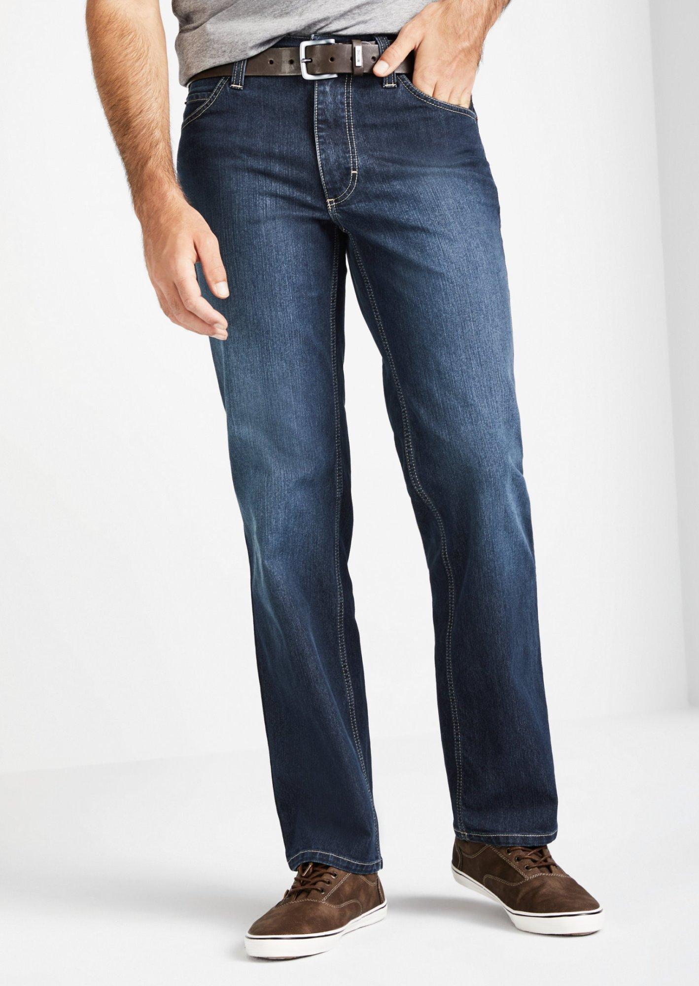 Mustang Tramper Men/'s Jeans W28 to W46//Midnight Black Stretch