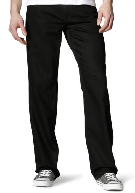 Mustang Big Sur Herren Jeans (Stretch), W32 -to- W46 / midnight black