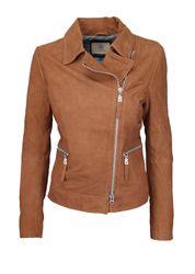 BOGNER Jeans Damen Lederjacke / Bikerjacke, Size: S / Wildleder 1