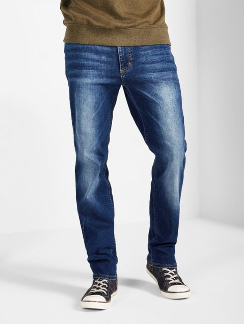 Mustang Tramper Tapered be flexible Jeans, W31 - to - W46 / Vintage-Finish