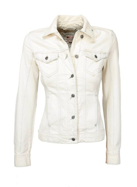 Mustang Damen Jeansjacke Used-Look, Size: XS,S,M,L,XL / super stone washed