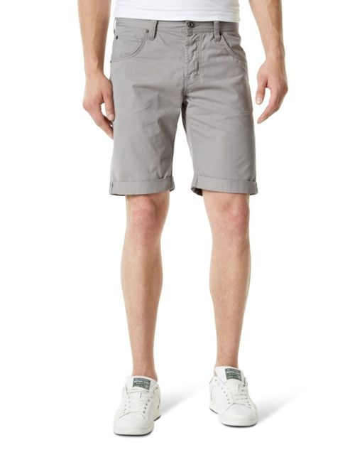 Mustang Herren Chicago Short, W29 -to- W40 / grau