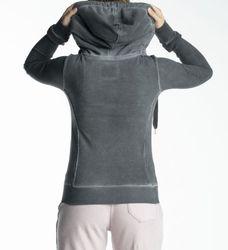 BETTER RICH  Shelby Jacket NY / Damen Sweatjacke, *NEU* / Used-Waschung / Black 2