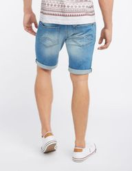 Mustang Herren Chicago Short, Size: W28 / vintage washed 2