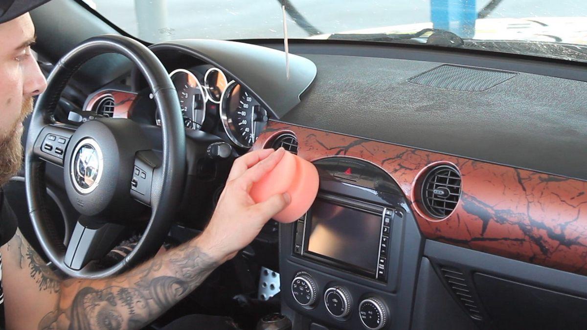Auto Cockpitpflege Video Anleitung Innenraum Pflege Kunststoff