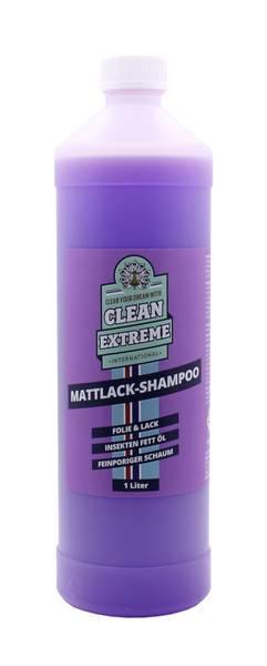 CLEANEXTREME Mattlack Auto-Shampoo Folie & Lack - Konzentrat - 1 Liter – Bild 1