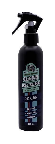 CLEANEXTREME RC Car Reiniger – für Karosserie und Chassis - 200 ml