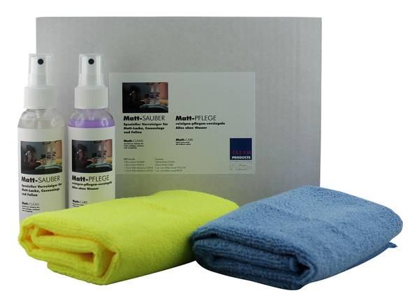 CLEANHOME Matt-SAUBER + Matt-PFLEGE-SET für matte Fronten bei Küchen- und Möbel – Bild 2
