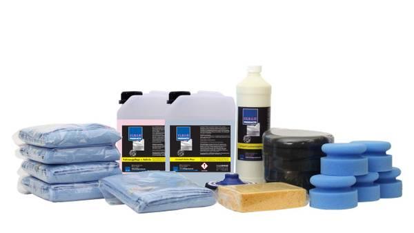 CLEANPRODUCTS Fahrzeug-Pflege + Versiegelung-SET – Bild 1