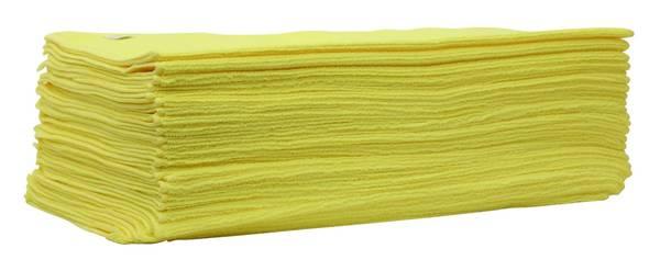 CLEANEXTREME MICRO Allroundtuch GELB - 25 Stück – Bild 1