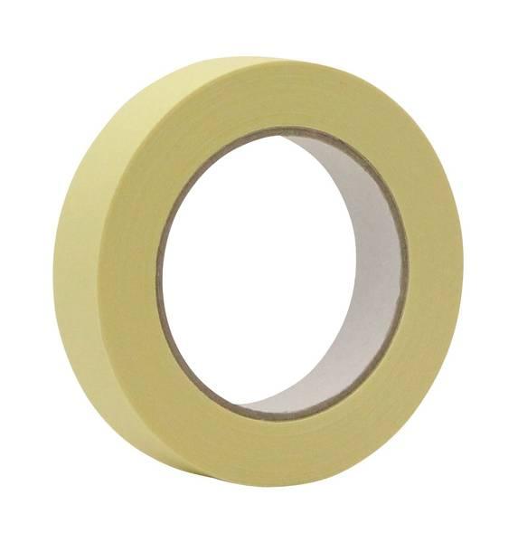 CLEANPRODUCTS Abdeckband-Klebeband 25 mm x 50 m, bis 110 Grad - 1 Stück