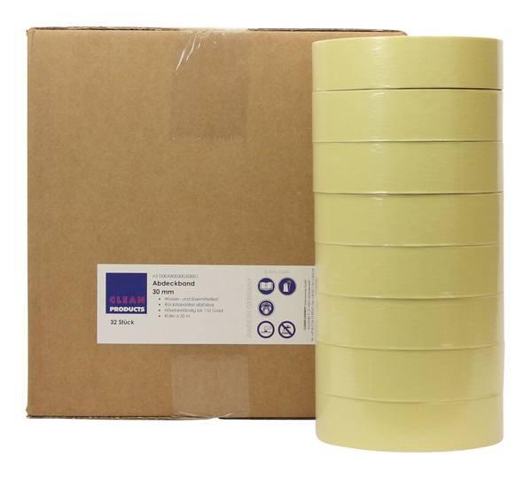 CLEANPRODUCTS Abdeckband-Klebeband 30 mm x 50 m, bis 110 Grad - 32 Stück – Bild 3