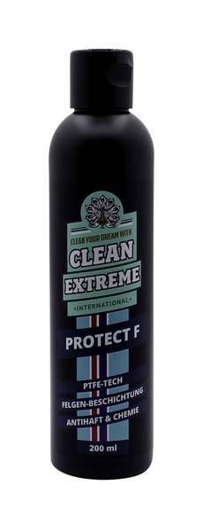 CLEANEXTREME PROTECT F Felgen-Versiegelung mit PTFE-Technologie (Antihaft-System) - 200 ml – Bild 1