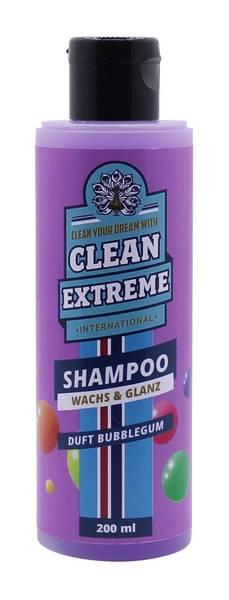 CLEANEXTREME Autoshampoo Konzentrat BUBBLEGUM mit Wachs 200 ml – Bild 1