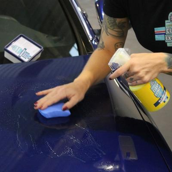 CLEANEXTREME Reinigungsknete BLAU Fein - 100g (Industrieknetmasse) – Bild 8