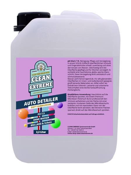 CLEANEXTREME Auto-Detailer Brillanz & Schutz BUBBLEGUM (Lackpflege) - 2,3 Liter – Bild 1