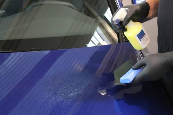 CLEANPRODUCTS Polierknete BLAU Fein 100g (Reinigungsknete) – Bild 3