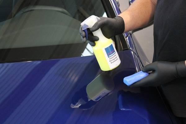CLEANPRODUCTS Polierknete BLAU Fein 100g in der Box (Reinigungsknete) – Bild 5
