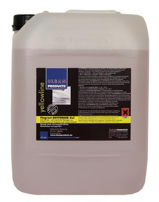 CLEANPRODUCTS Flugrost-Entferner Gel - Säurefrei - pH-neutral - 10 Liter
