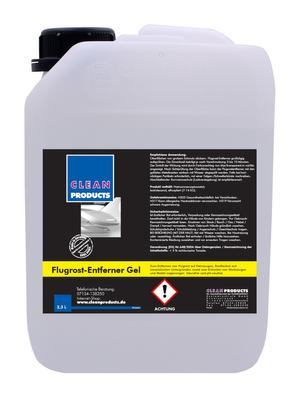 CLEANPRODUCTS Flugrost-Entferner Gel - Säurefrei - pH-neutral - 2,3 Liter